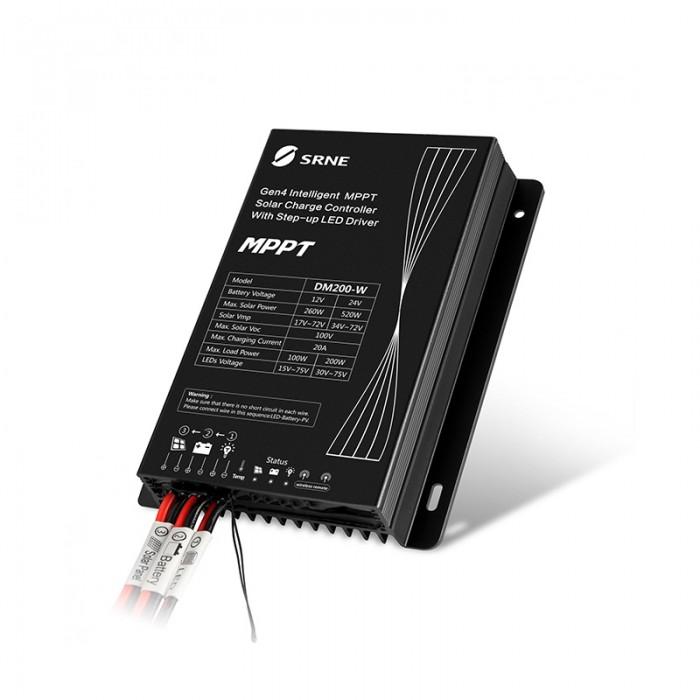 MPPT LED Solar Street Light Controller DM200