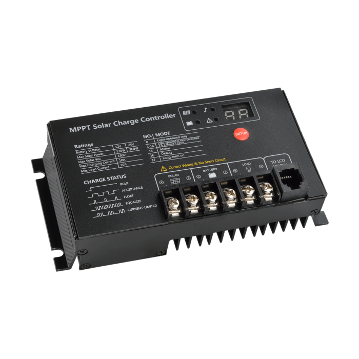MPPT Solar Charge Controller MT2410