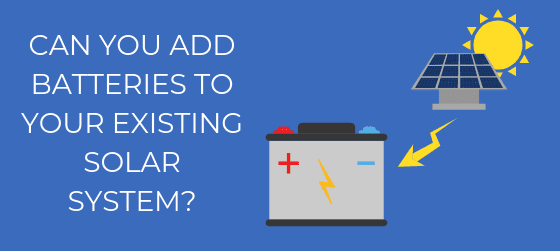 What Should You Know When Adding Battery to Existing Solar Power System?