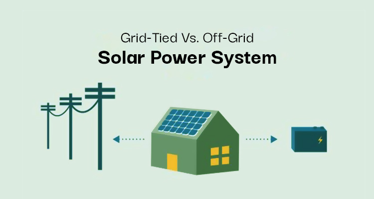 Differences between Grid-tied and Off-grid Solar systems