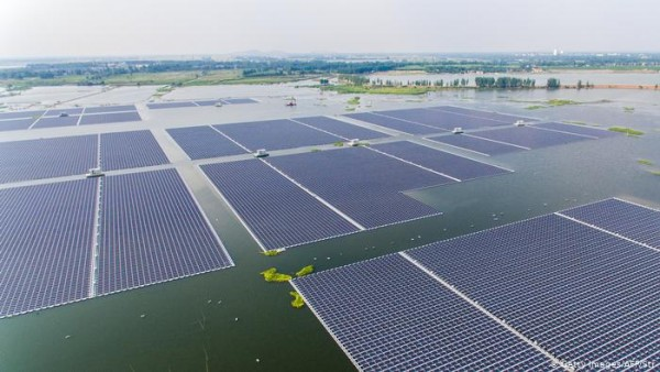 Floating Solar is Developing And Rising