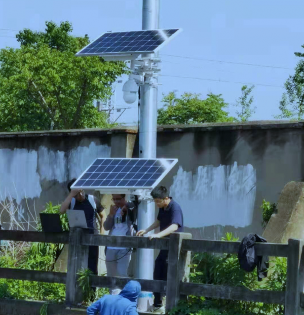 Rail Track Monitoring System with Solar Power